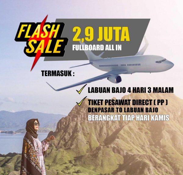 Flash Sale Labuan Bajo dari Bali